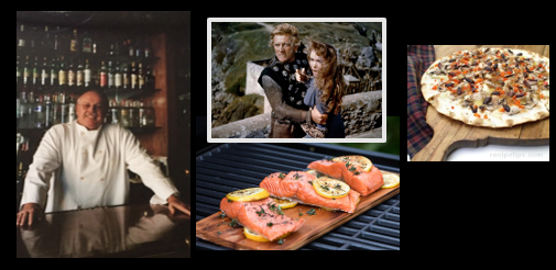 THE CHEF SEZ: Kirk Douglas passes away (US Navy vet) — what's to point of grilling fish on wood?  AND… Kim's Lavosh recipe