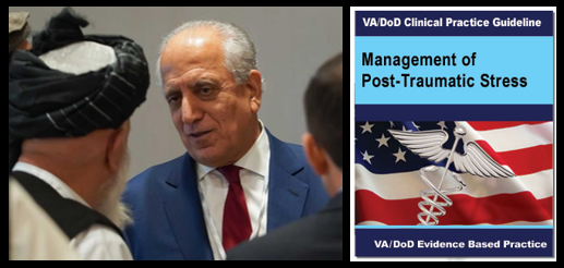 NEWS & COMMENTARY:  a new Afghan peace deal & study finds VA/DoD recommended PTSD therapies fail 66% of military patients