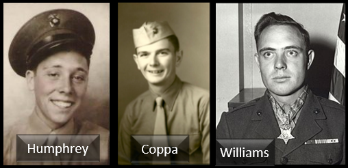 IWO JIMA SPECIAL:  from D-Day LIVE reports to PFC's Humphrey and Coppa, to Cpl Mates and Medal of Honor recipient Cpl Woody Williams