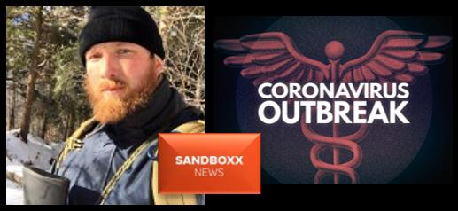 ALEX HOLLINGS:  Coronavirus conspiracy theories  &  Sandboxx.us expands its News Department