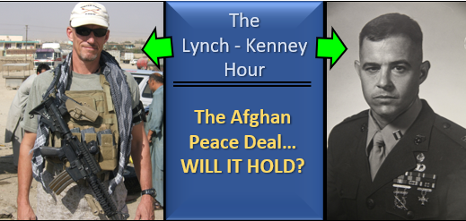 LYNCH & KENNEY:  will the Afghan peace plan hold?