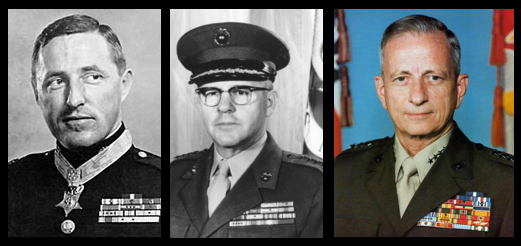 USMC HERITAGE DAY:  General Davis talks Chosin, General Shoup talks Vietnam & General Barrow reflects on his career