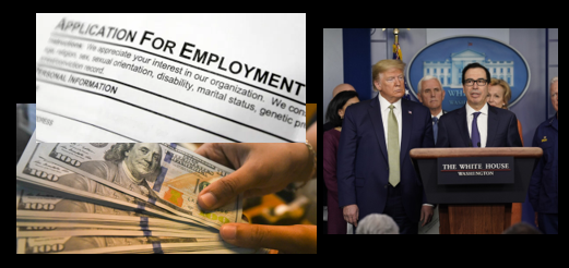 NEWS & COMMENTARY:  instead of $1,000 for all, why not increase unemployment benefits efforts to those who NEED them?
