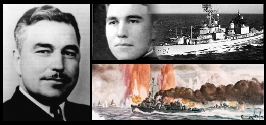 MONDAY MOTIVATION:  the story of Medal of Honor recipient Ernest Evans, USN & the USS Johnston is truly inspiring