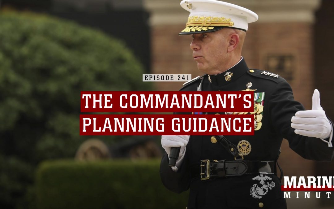 THE BERGER PLAN:  building a framework to evaluate fundamental changes to the Marine Corps