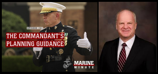 "THE BERGER PLANNING GUIDANCE IS POINTING THE MARINE CORPS AT A ""MILITARY REVOLUTION"":  Col T.X. Hammes, USMC (ret)"
