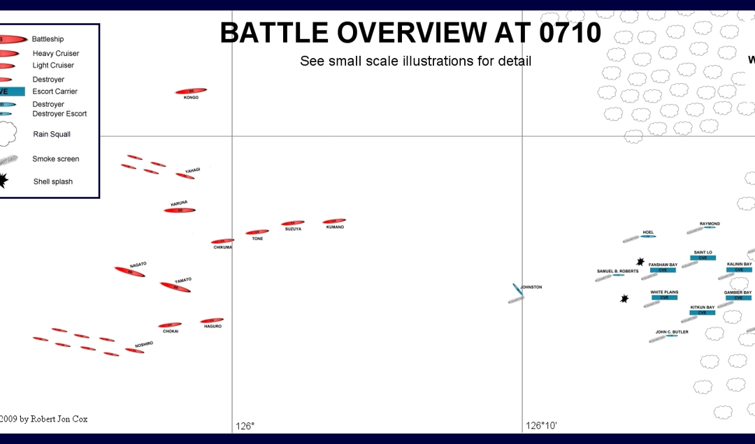MAPS:  Battle of Samar