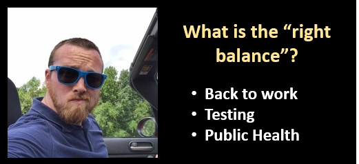 """ALEX HOLLINGS:  bringing a State out of its """"Stay At Home"""" order  —  balancing testing, public safety and the NEED to work"""