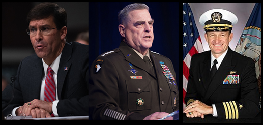 NEWS & COMMENTARY: SECDEF Esper and Gen Milley pump the breaks on USN's reinstatement of Capt Crozier & where is Kim Jung Un?