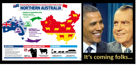 "China's blackmailing Australia for asking for a Covid19 Investigation  &  get ready for crazy times cuz ""Obamagate"" is a gonna be a real thing"