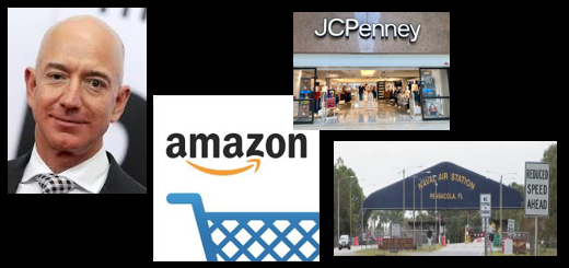 "NEWS & COMMENTARY:  Bezos the world's first ""trillionaire"" and the storefront retail landscape & an al Qaida link to NAS Pensacola shootings"