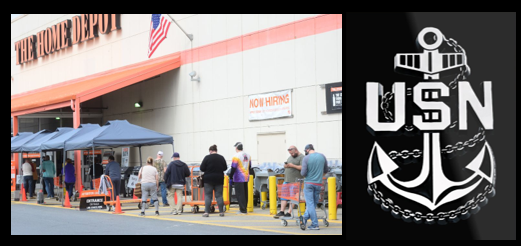 "NEWS & COMMENTARY:  why not the ""Home Depot"" criteria for ANYONE to reopen?  AND… another tough leadership week for the US Navy"