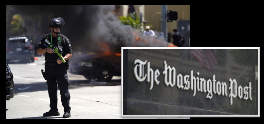 "NEWS & COMMENTARY:  demonstrations, riots, looters, anarchists & the Washington Post's ""Police Shooting Database"" trendlines 2015-2019"