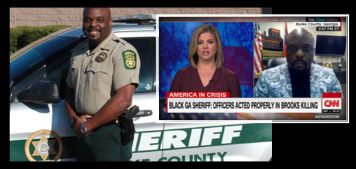 "NEWS & COMMENTARY:  Our ""Leader of the Day"" is Sheriff Alonzo Williams, from Burke County Georgia; unafraid of the truth"