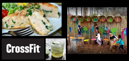 RECIPES FOR STUFFED CHICKEN PARMESAN & GREAT MAGARITAS, CROSSFIT EATING & OUTDOOR PRESCHOOL:  daughter-in-law Susie