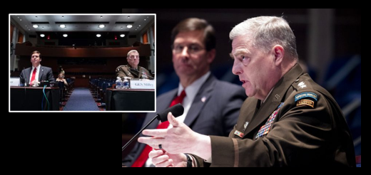 BOUNTYGATE:  SECDEF Esper and Chairman Milley – in their own words, in long format, in front of the House Armed Service Committee