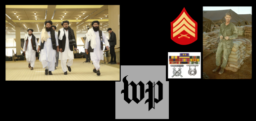 NEWS & COMMENTARY:  Taliban leadership changes + Trolls and internet hoaxes + the wisdom of Vietnam Marine Jack Riley