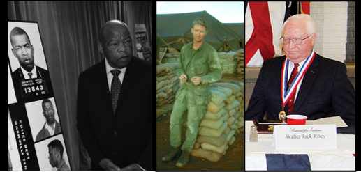 "NEWS & COMMENTARY:  you should read about Rep John Lewis's life + It's ""Jack Riley Week"" on ALL MARINE RADIO — a great man, a Vietnam Veteran & a life mentor"