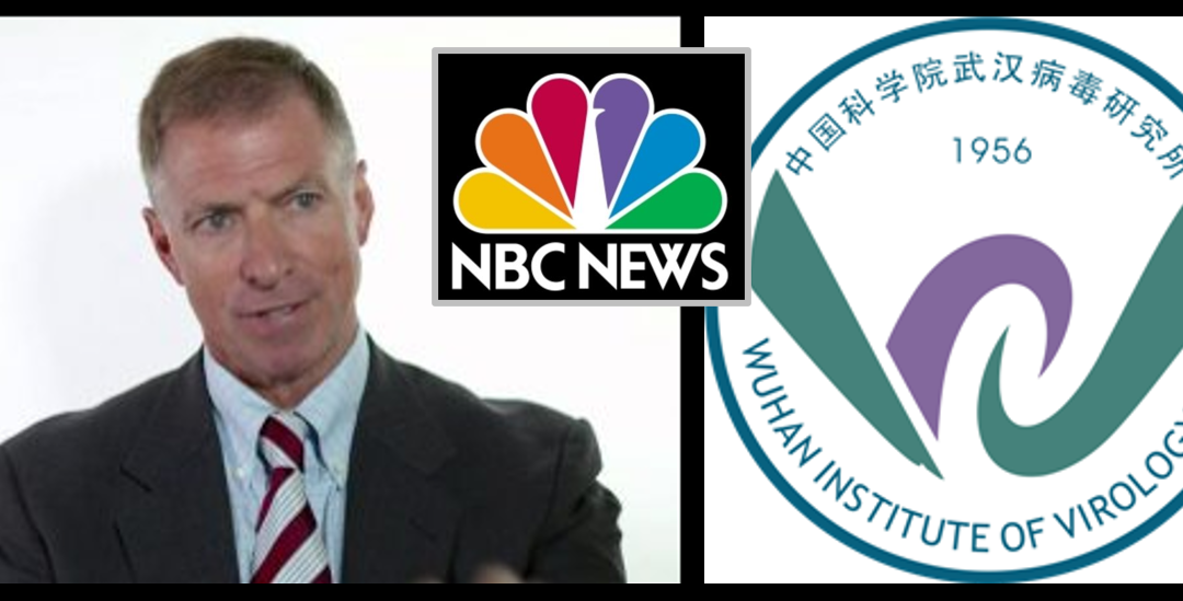 GRANT NEWSHAM:  NBC Promotes Chinese fairytale in Wuhan Lab story — the FIRST news outlet allow into the lab!!!!  Hmmmm