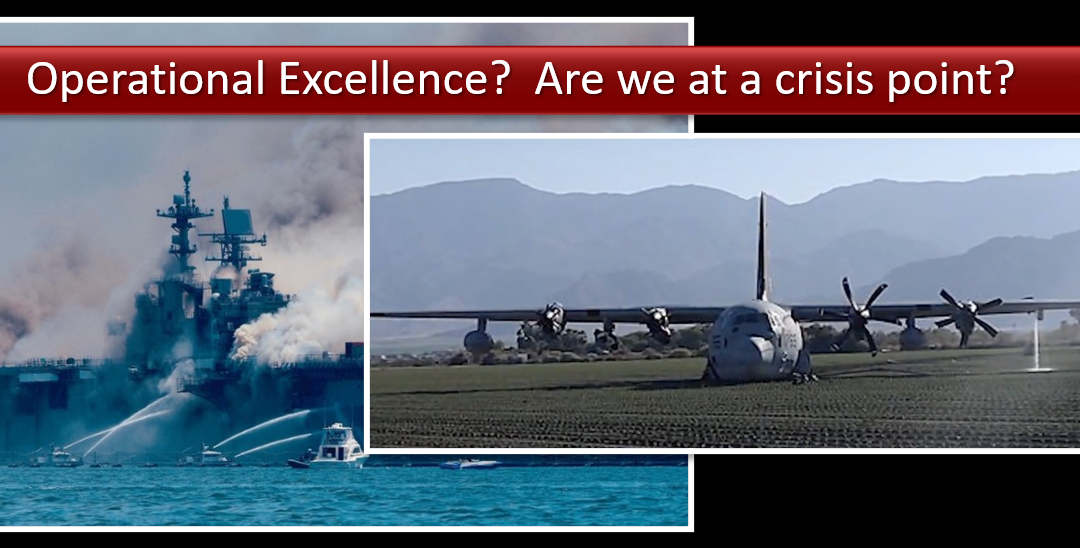 "NEWS & COMMENTARY: US military ""Operational Excellence"" – a crisis yet? + Radio net audio of the USMC KC-130J's ""MAYDAY"" call"