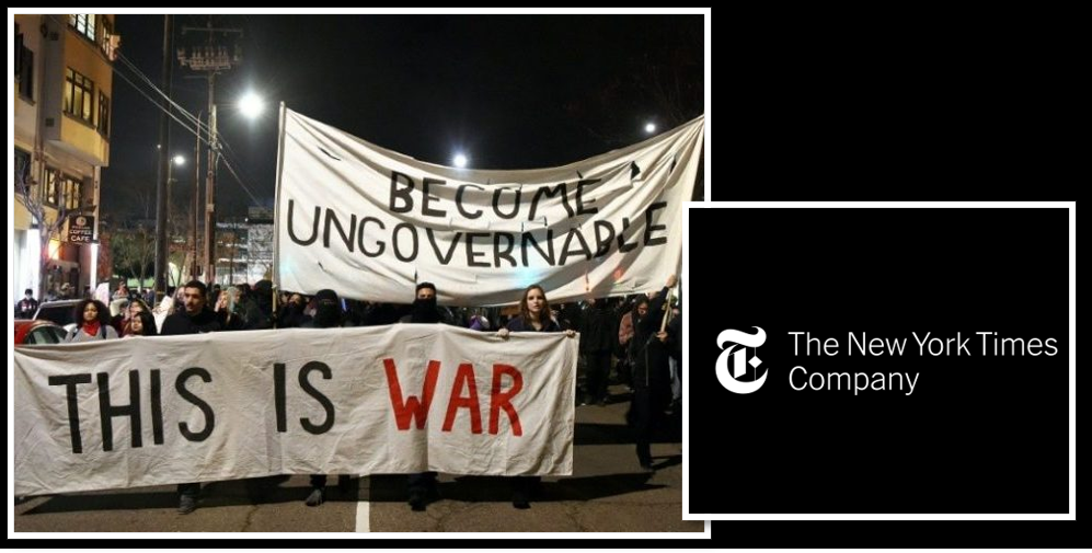 NEWS & COMMENTARY:  intolerance on our campuses + media outlets that 'advocate' vice 'inform' — will all of this end in violence?