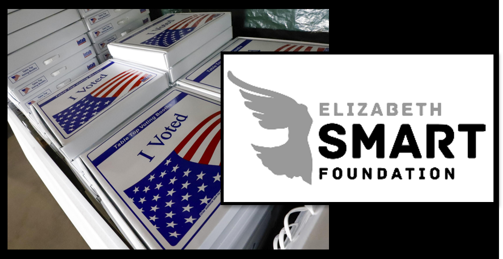 Is it more important to 'win' the election or to have 'confidence' in the system?  I'm no longer sure what the nation believes + the Elizabeth Smart Foundation begins the 'WE BELIEVE YOU' campaign