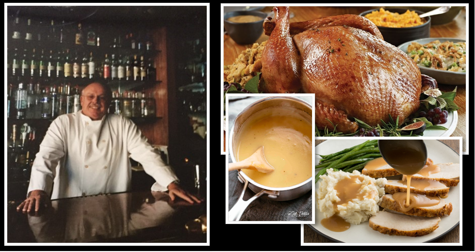 'GRADUATE SCHOOL' FOR THANKSGIVING CHEFS — IT'S ALL ABOUT THE GRAVY BABY:  Kim Holmes