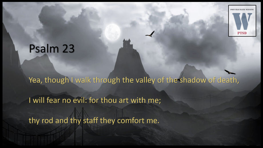 """So… I'm out walking my dogs and then someone got their life changed — another story of """"Winning"""" in the Valley of the Shadow of Death"""