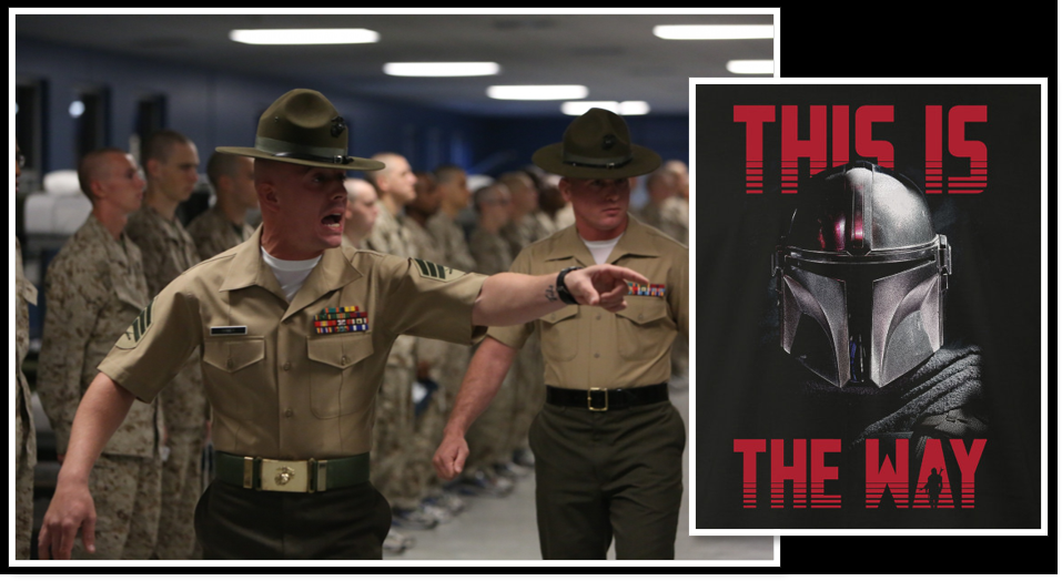 "NEWS & COMMENTARY: is it time to evolve the idea of a ""Drill Instructor""?  +  The Mandalorian joins Post-Traumatic Winning because ""This is the Way"""