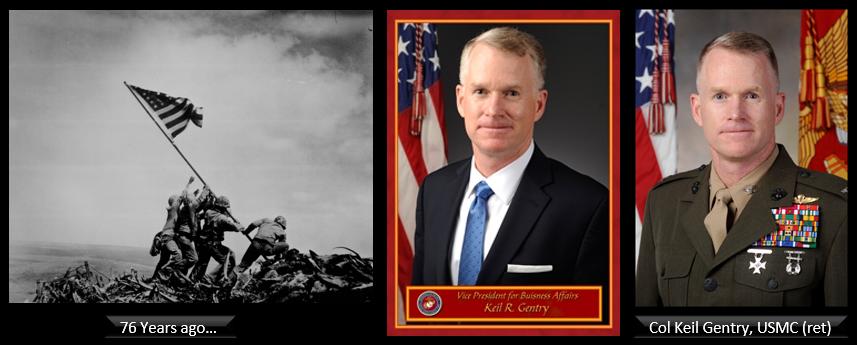 Col Keil Gentry, USMC (ret) was a member of all three boards that looked into the Iwo Jima Flag Raisings — he talks about it