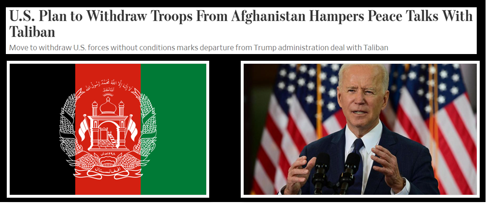 THE ALL MARINE RADIO HOUR:  Afghanistan, the Taliban and President Biden's departure plan for US Forces — with Tim Lynch