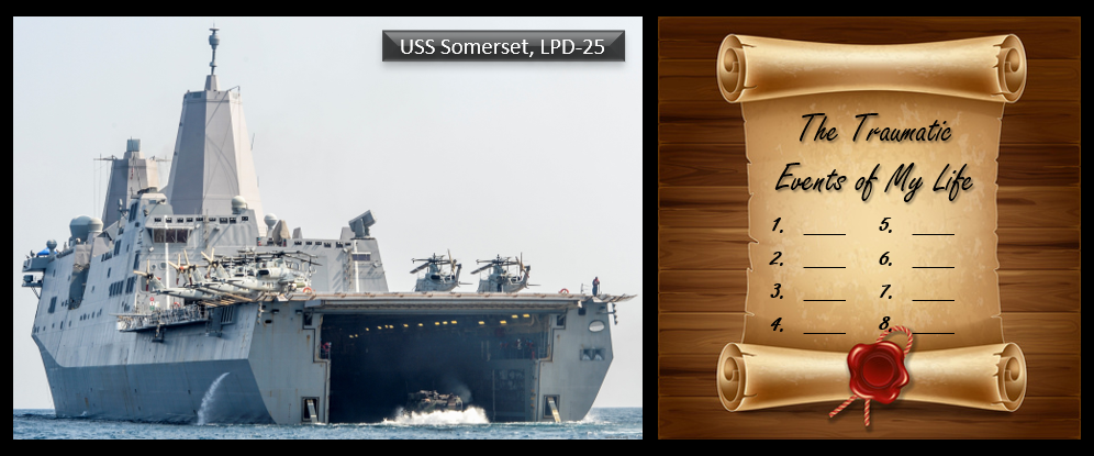 THE ALL MARINE RADIO HOUR:  USS Somerset questions in the 15th MEU AAV Investigation + Ever made a list of the traumatic events of your life?