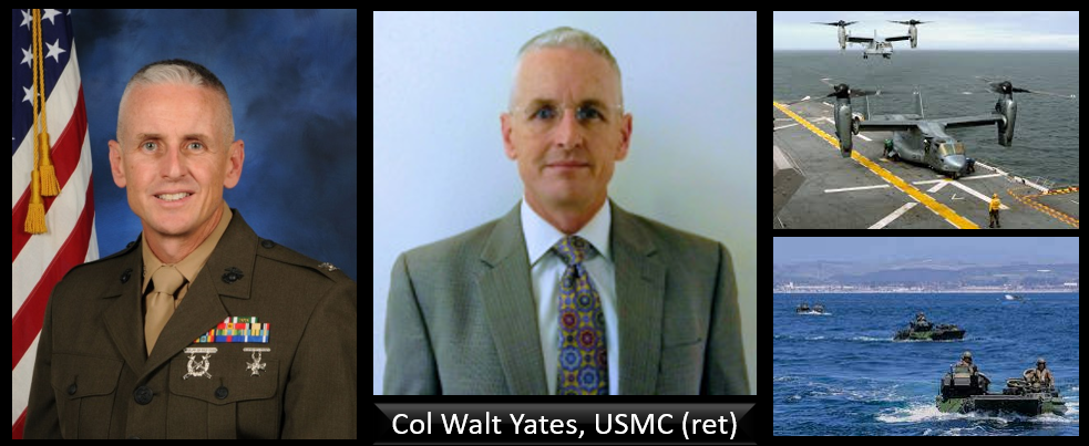 THE MARINE CORPS' WILLFUL DISREGARD FOR GROUND SAFETY TRAINING SPECIFIC TO AAV & OSPREY UNDERWATER EGRESS:  Col Walt Yates, USMC (ret)
