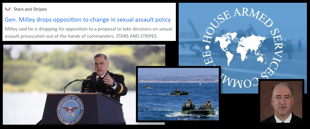 THE ALL MARINE RADIO HOUR: separate military courts for sexual assaults seem immanent + USMC Generals testify before Congress on Ground Safety… with Will Costantini