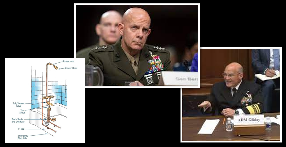 """THE ALL MARINE RADIO HOUR: plumbing adventures, """"Aloha"""" from Pearl Harbor-Hickam + Part 1 of select segments of CMC & CNO budget testimony to the HASC"""