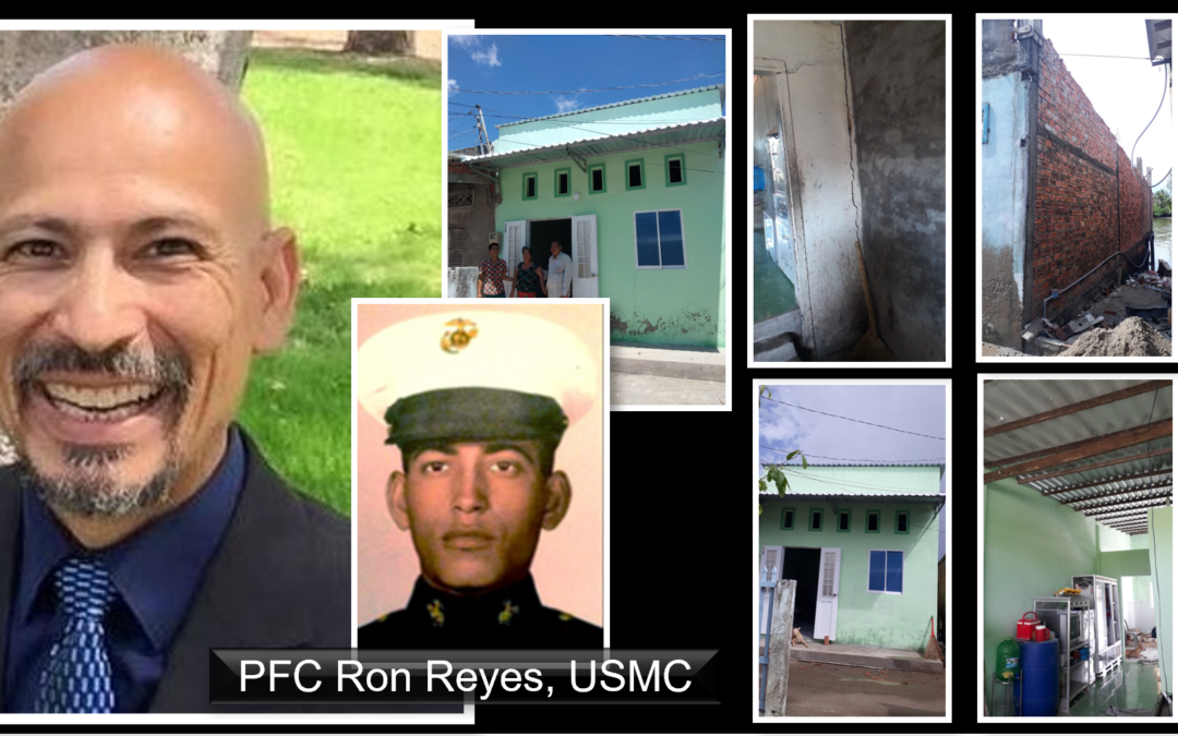 TRAUMA 2 JOY: Ronnie Reyes updates his journey from Vietnam War Gold Star son to home renovator in Vietnam near the site his Dad was killed in action