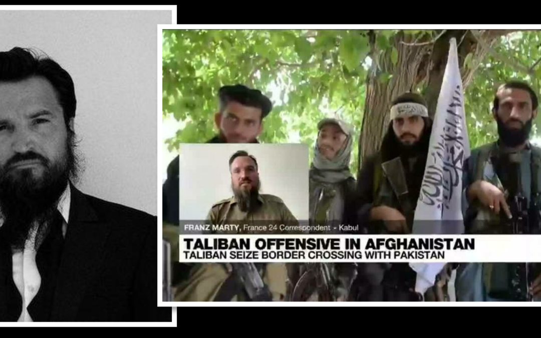 """THE ALL MARINE RADIO HOUR: from Kabul, Afghanistan — freelance Swiss journalist Franz Marty on what's behind the """"pace"""" of the Taliban's progress"""