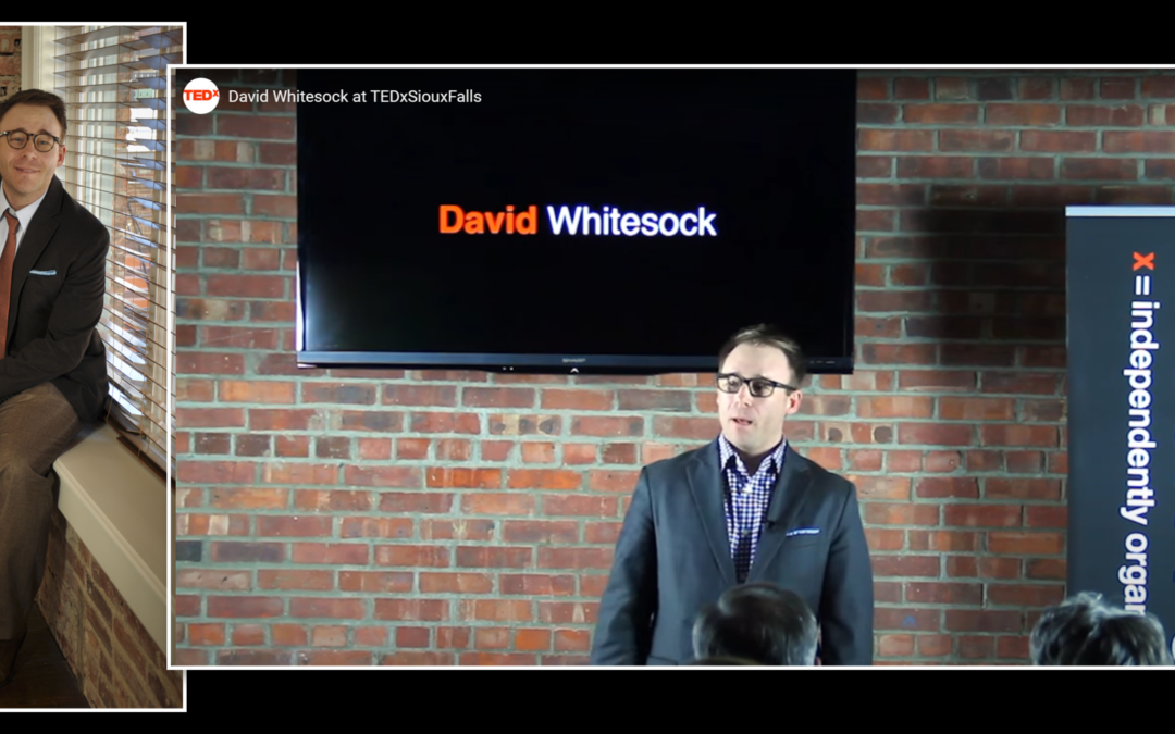 POST-TRAUMATIC WINNER: David Whitesock's path from alcohol addiction, through broadcasting, to jail, to law school, to advocate will inspire you