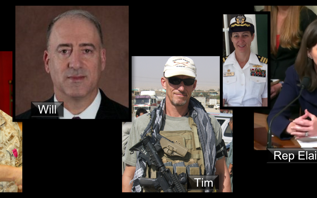 THE ALL MARINE RADIO HOUR: Promotion Photos + Afghanistan observations + USS Bonhomme Richard arson charges + Rep Luria listened and wrote to clarify some things