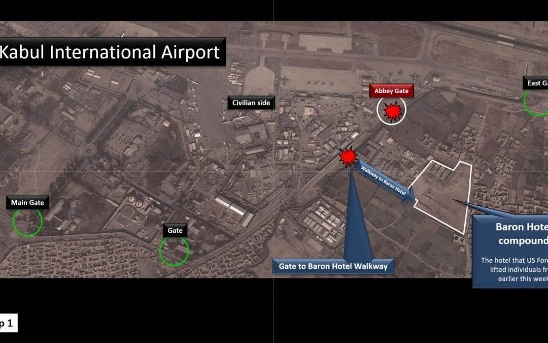 Kabul International Airport & Vicinity Maps