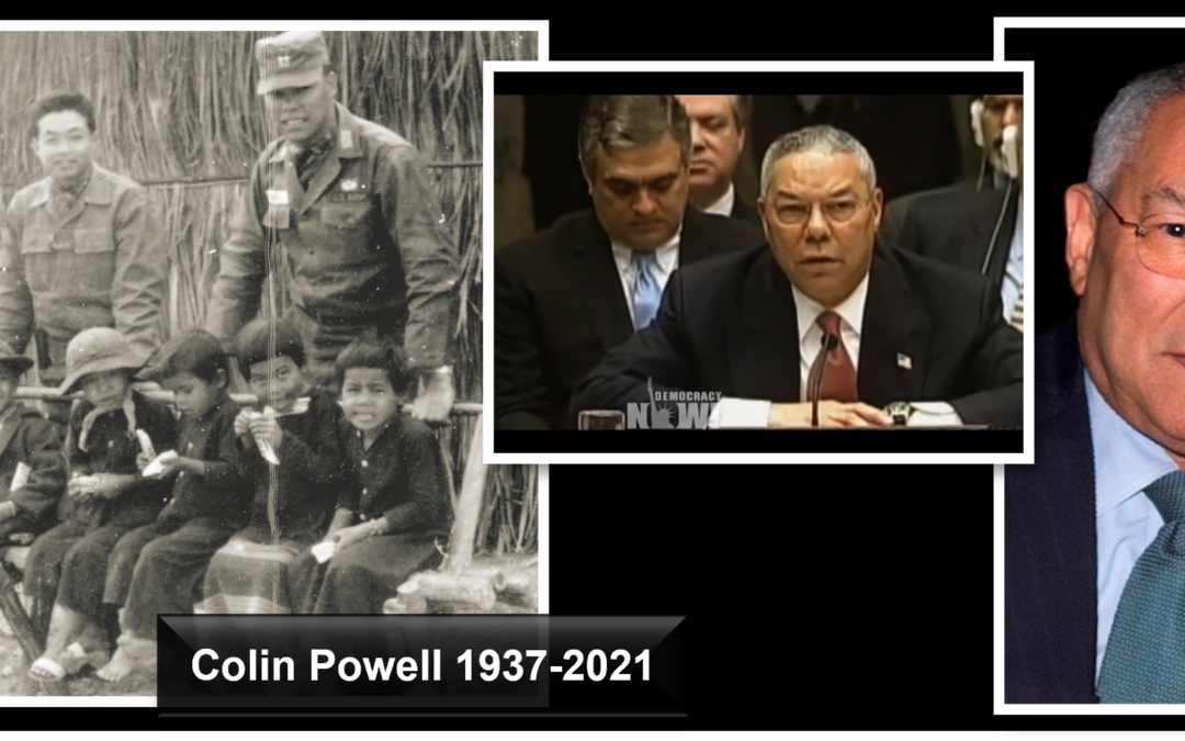 THE ALL MARINE RADIO NEW HOUR:  Colin Powell's legacy is truly an American legacy… flaws and all