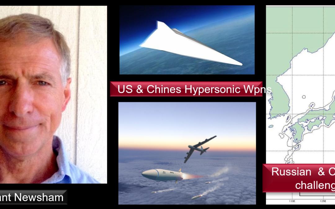 THE ALL MARINE RADIO HOUR: Grant Newsham talks US & China hypersonic testing +